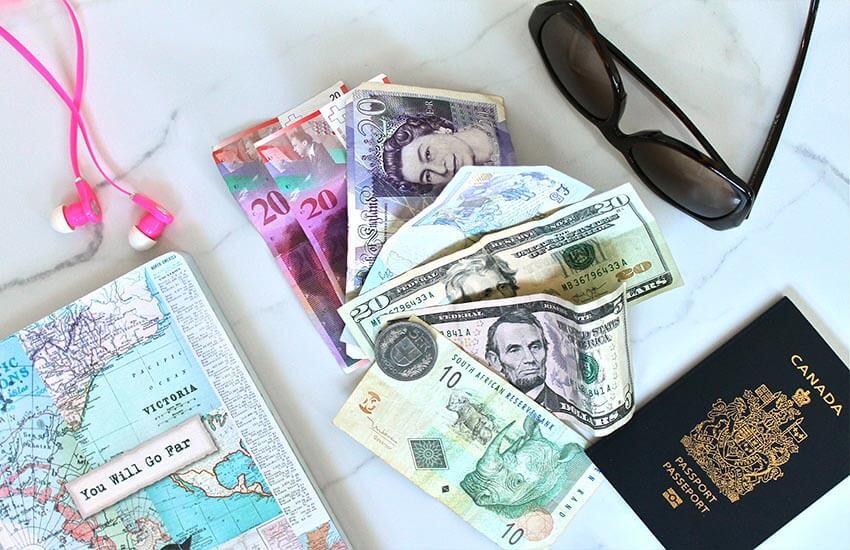 تاثیرات نرخ ارز بر سفرهای خارجی