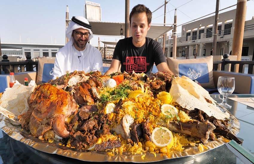 تصویر از سوغات و خوردنی های دبی