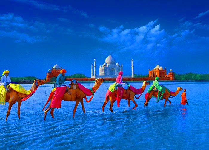 تصویر از جاهای دیدنی و جاذبه های گردشگری هند