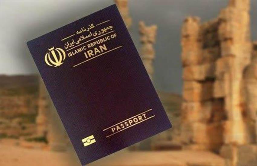 تصویر از جایگاه ایران در بین گذرنامه کشورهای جهان