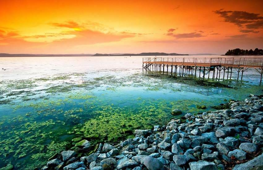 دریاچه آب شیرین اروپا