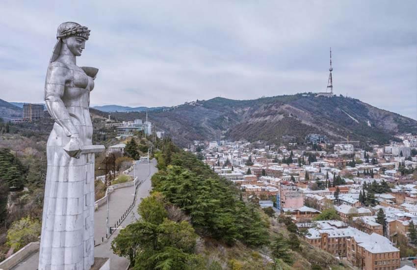 تصویر از جاذبه های و جاهای دیدنی گرجستان