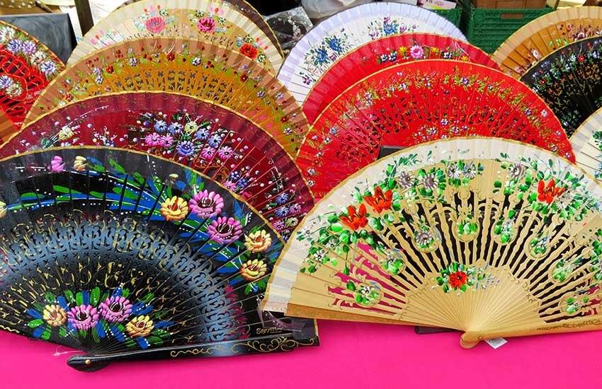 بانیکو، بادبزن سنتی اسپانیا