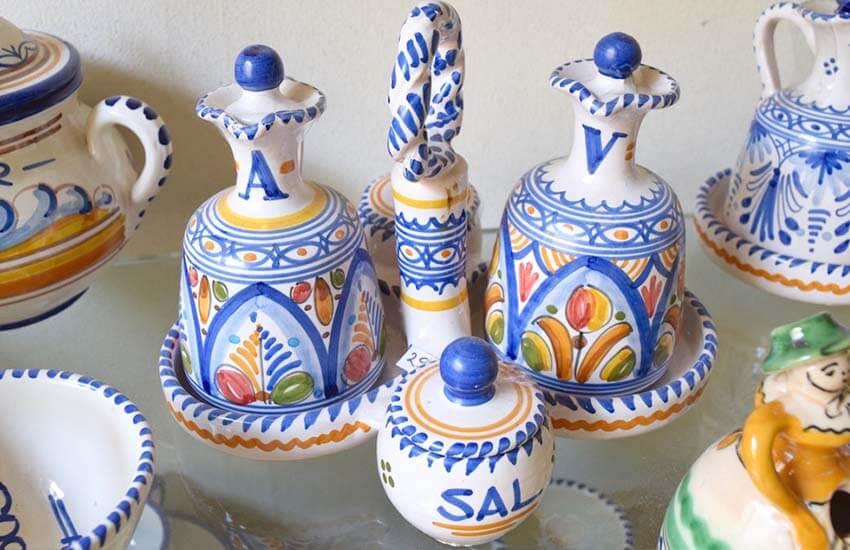 ظروف دست ساز سفالی و سرامیکی اسپانیا