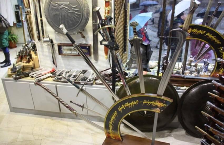 شمشیر تولدو - سوغات و خوردنی های اسپانیا