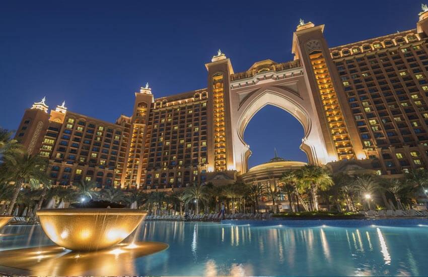 تصویر از معروف ترین هتل های دبی