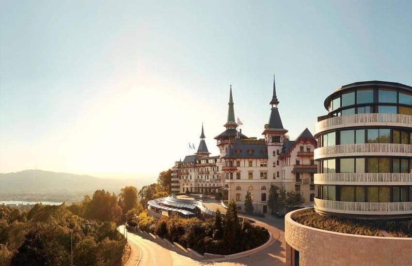 تصویر از معروف ترین هتل های سوئیس