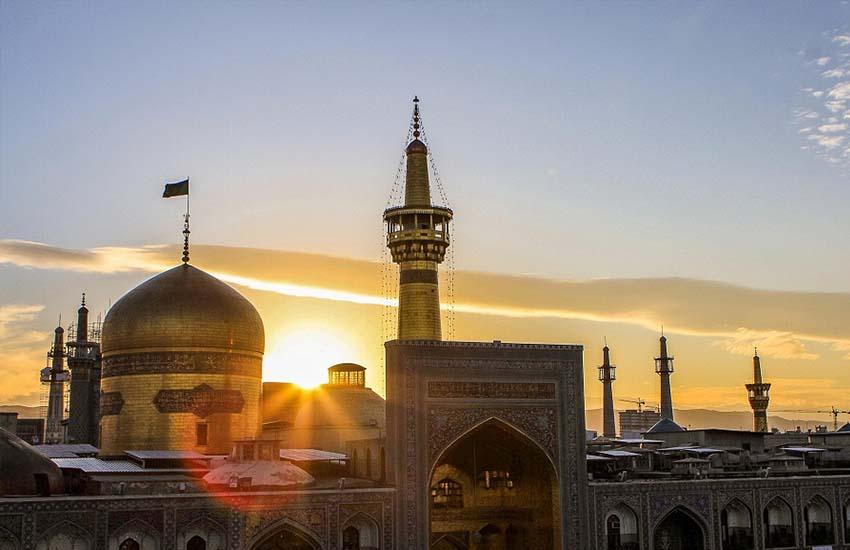 برنامه سفر به مشهد - حرم امام رضا