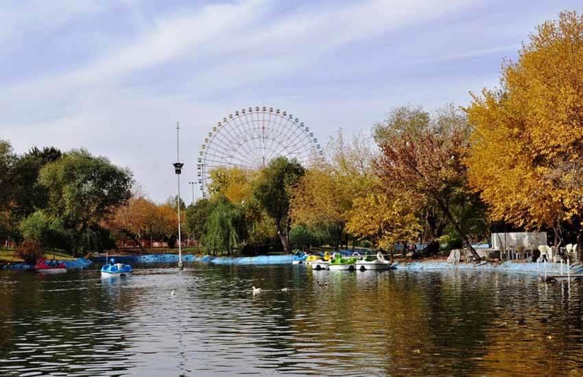 پارک جنگلی ملت - برنامه سفر به مشهد