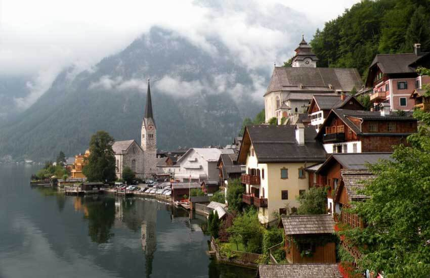 جاذبه های گردشگری اتریش - قلعه هالشتات