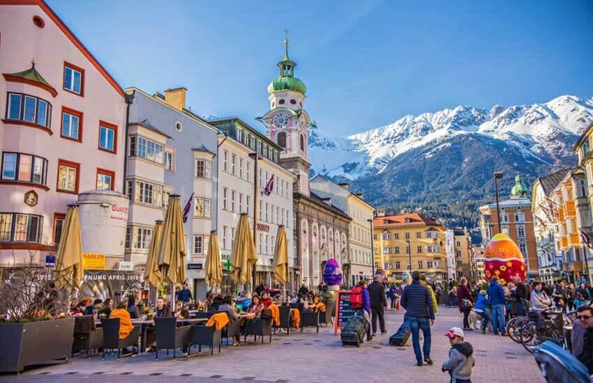 جاذبه های گردشگری اتریش - شهر کارت پستالی اینسبروک