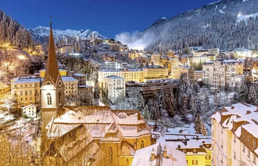 جاذبه های گردشگری اتریش - شهر بد گستن Bad Gastein