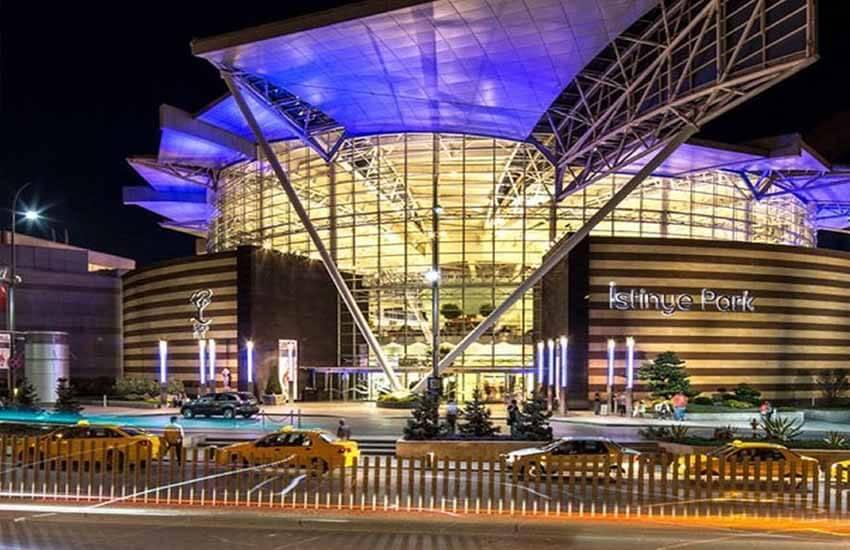 مراکز خرید استانبول - مرکز خرید ایستینیه پارک