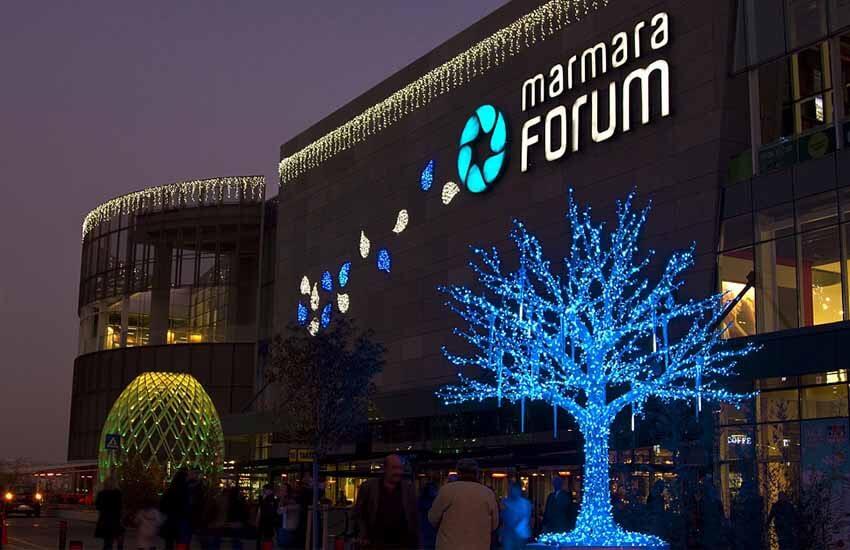 مراکز خرید استانبول - خرید مارمارا فروم استانبول