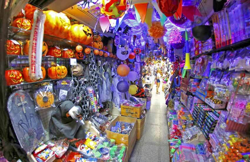 مراکز خرید بانکوک - بازار سمپنگ