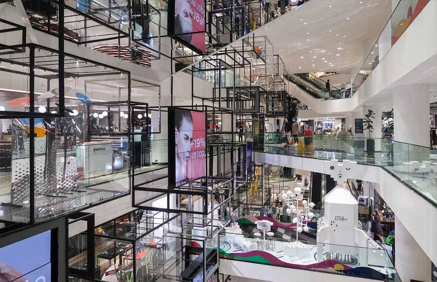 مراکز خرید بانکوک - سیام سنتر