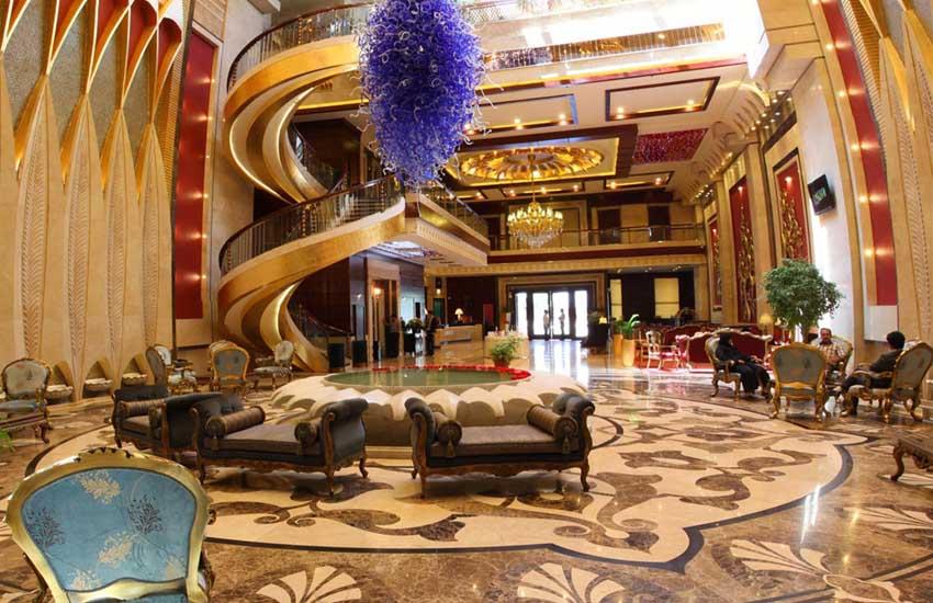 هتل های 5 ستاره مشهد - هتل درویشی