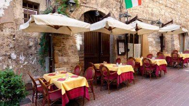 تصویر از کافه های معروف ایتالیا