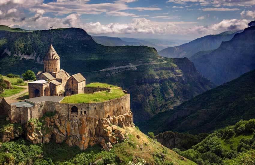 شهرهای توریستی ارمنستان