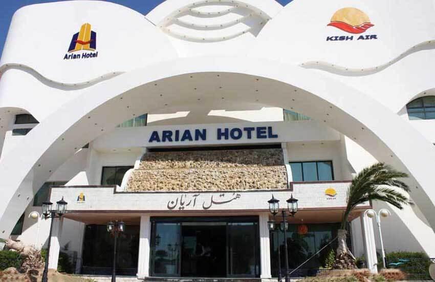 هتل های4 ستاره کیش