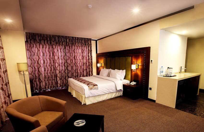 هتل های5 ستاره کیش - هتل پانوراما