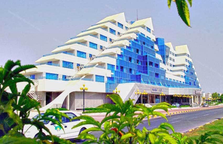 هتل های5 ستاره کیش - هتل پارمیس