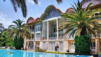 تصویر از باغ ارم شیراز