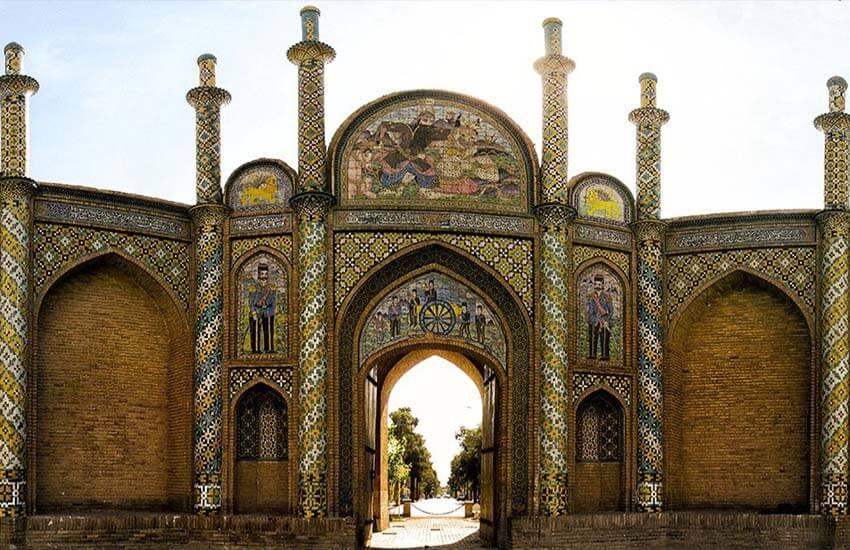 معروف ترین بناهای تاریخی ایران