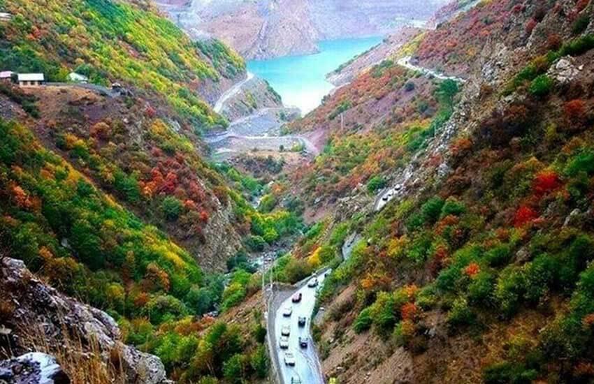 زیباترین جاده های ایران