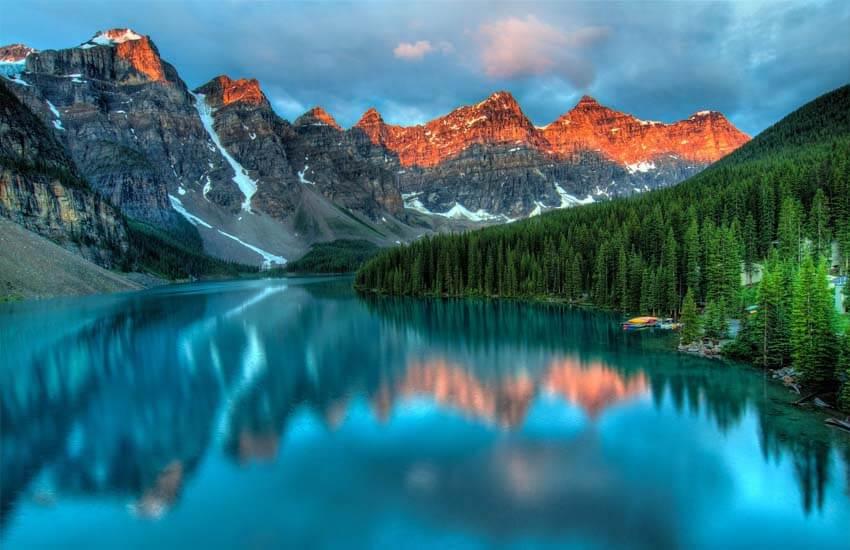 دریاچه لوئیس کانادا
