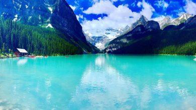 تصویر از دریاچه لوئیس کانادا